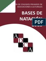 Bases de Natación 2018