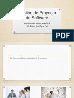 Gestión de Proyecto de Software