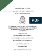 Pushover Facultad de Medicina de La Universidad de El Salvador
