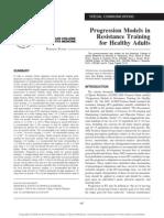 2009 Progression Models in ACSM