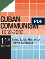 Horowitz, I. & Suchlicki, J. (Libro - 2003) - Cuban Communism 1959-2003