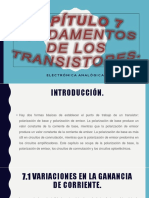 Capítulo 7 Fundamentos de los transistores.pptx