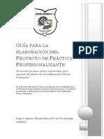 Guía Proyecto Práctica Profesionalizante