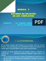 Sistemas de Solucion de Los Conflictos-