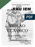 Poster Violão Clássico 15_09