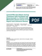 Cystoid Macular Edema during.pdf