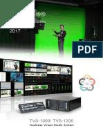 Datavideo Virutal Studio Solutions2016-2017