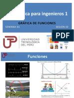 PPT Semana 01 Ses 02 Gráficas de Funciones