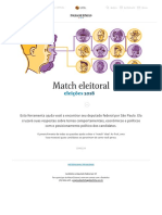 Match Eleitoral - Folha - Eleições 2018 - Encontre Seu Deputado Federal Em SP