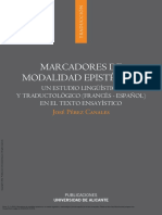 Marcadores de Modalidad Epistémica Un Estudio Ling... ---- (Pg 1--110)