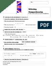 Listening Comprehension Friends Worksheet