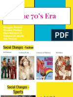 decades project - 70s