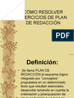 Plan de Redaccion Como Contestar