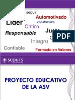 Proyecto Educativo de la ASV