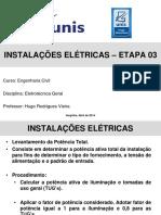 ELT+-+Etapa+03+-+Instalações+Elétricas