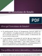 El Terrorismo de Estado