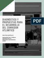 Diagnóstico y Propuestas Para El Desarrollo Del Corredor Atlántico (elaborado por la Defensoría del Pueblo)