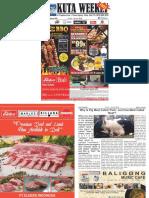 "Kuta Weekly - Edition 599 ""Bali's Premier Weekly Newspaper"""