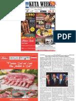 "Kuta Weekly - Edition 602 ""Bali's Premier Weekly Newspaper"""