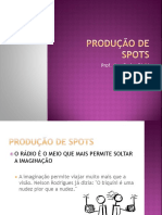Docslide.com.Br Producao de Spots Radio