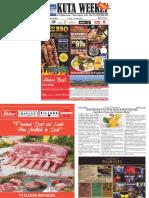 "Kuta Weekly - Edition 604 ""Bali's Premier Weekly Newspaper"""