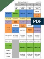3b c schedule updated