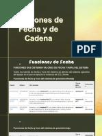 Fecha y Cadena
