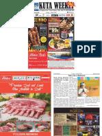 "Kuta Weekly - Edition 606 ""Bali's Premier Weekly Newspaper"""