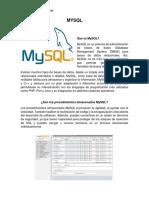 Trabajo#1 (MySQL)