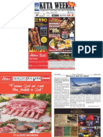 "Kuta Weekly - Edition 607 ""Bali's Premier Weekly Newspaper"""