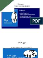 NIA 530 - Muestreo de auditoría.pptx