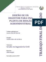 Diseño de un digestor para una planta de biogás agroindustrial.pdf