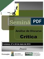Anais Seminario Adc Fortaleza 2010