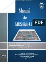 Manual MD Solids