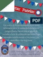 Invitacion Fiestas Patrias