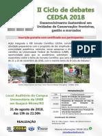 Cartaz II Ciclo 2018 - Guajará