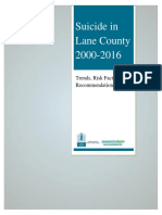 Suicide in Lane County 2000-2016