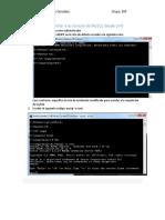Como Entrar a La Consola de MySQL Desde Cmd