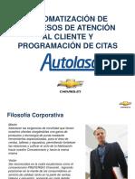 Automatización de Procesos de Atención Al Cliente y Programación de Citas