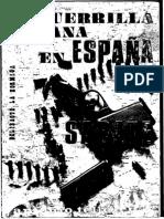 Sabate La Guerrilla Urbana En España