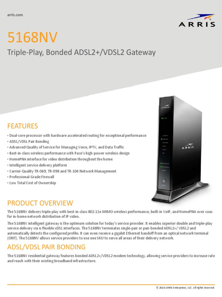 5168nv | Voice Over Ip | Wi Fi