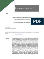 Artigo Sobre a Guerra Civil Na França, De Marx (USP)