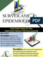 Surveilans Epidemiologi