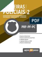 #Apostila - Carreiras Policiais - PRF-PF-PC - Volume 2 (2018) - Agora Eu Passo