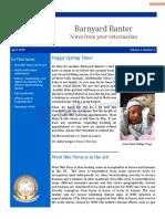 barnyard banter issue 2 edit