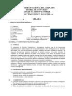 Silabo Metodos Cuantitativos Maestria Economia-Agosto 2018