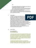 Marco Teorico, Objetivos y Conclusiones