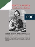 Movimiento y Fuerza Arquímedes