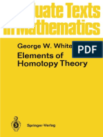 Element of Homotopy Theory