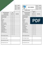F-EGS-14 Check List Compresora